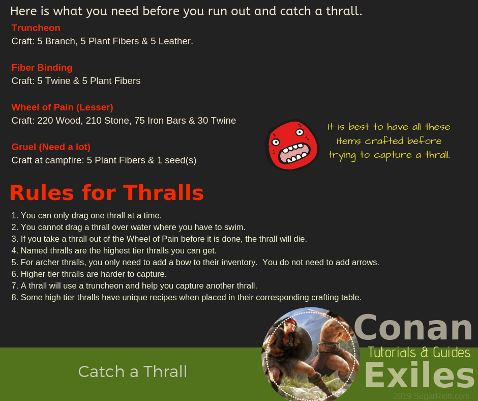 Conan Exiles – Thralls |